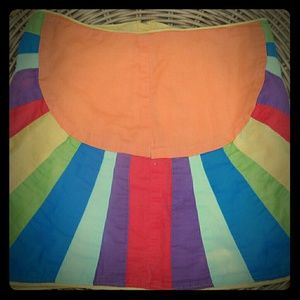 GAP Kids Rainbow Sunshine Skirt 4T